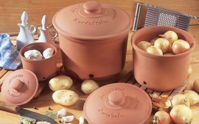 Pojemnik ceramiczny na ziemniaki Roemertopf